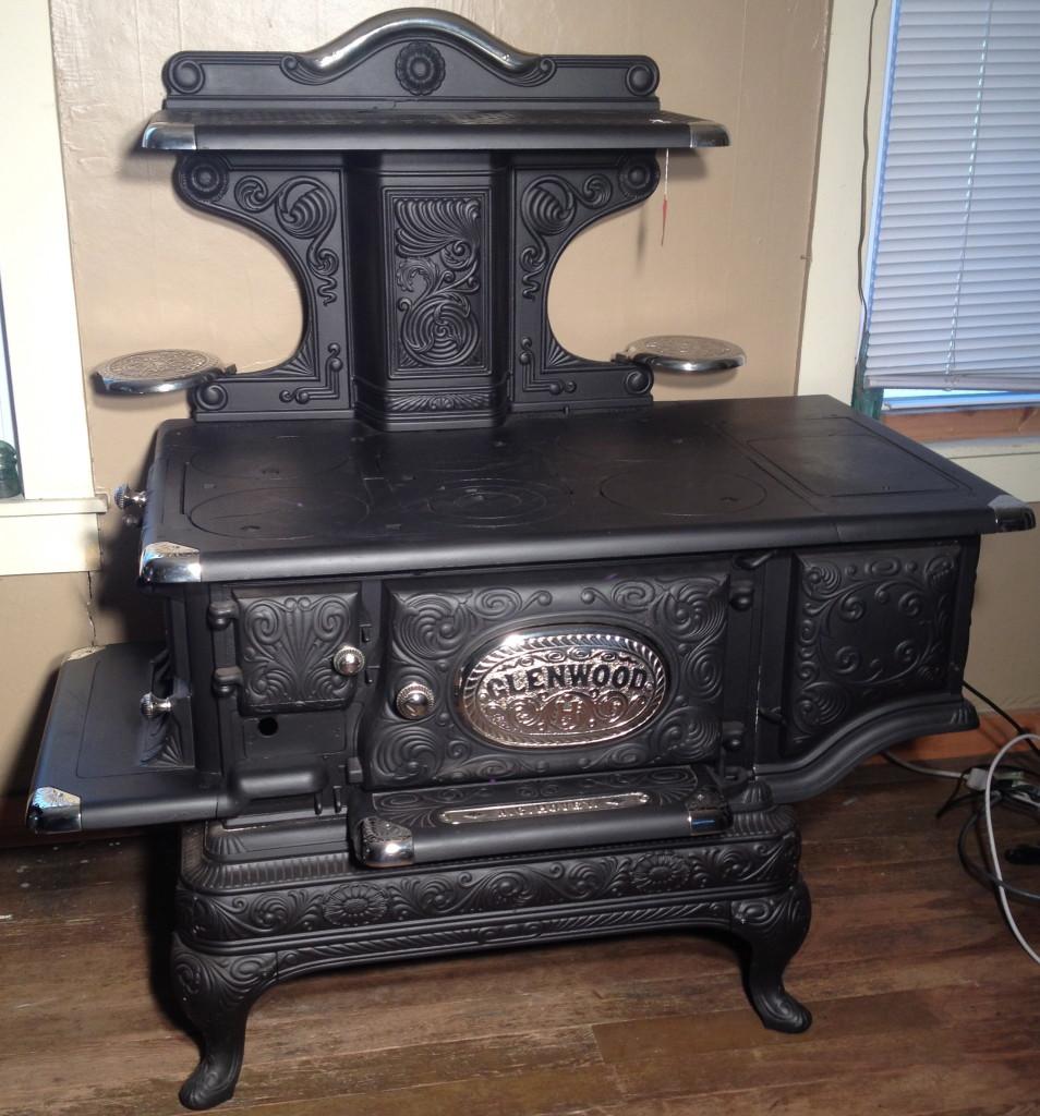 Glenwood Kitchen: Antique Wood Stove Glenwood Modern 508 E For Restoration